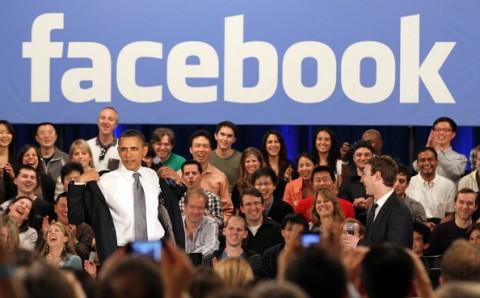 Obama visita Facebook
