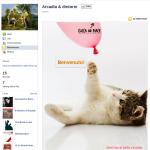 La pagina di Benvenuto Facebook di arcaedintorni.altervista.org