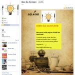 Pagina di Benvenuto Facebook di ideedagustare.altervista.org