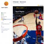 Crea pagina di Benvenuto su Facebook con AlterVista - Sport
