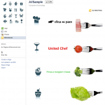 Crea pagina di Benvenuto su Facebook con AlterVista - Food