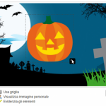 Aggiungi un'altra immagine - crea copertina Facebook Halloween