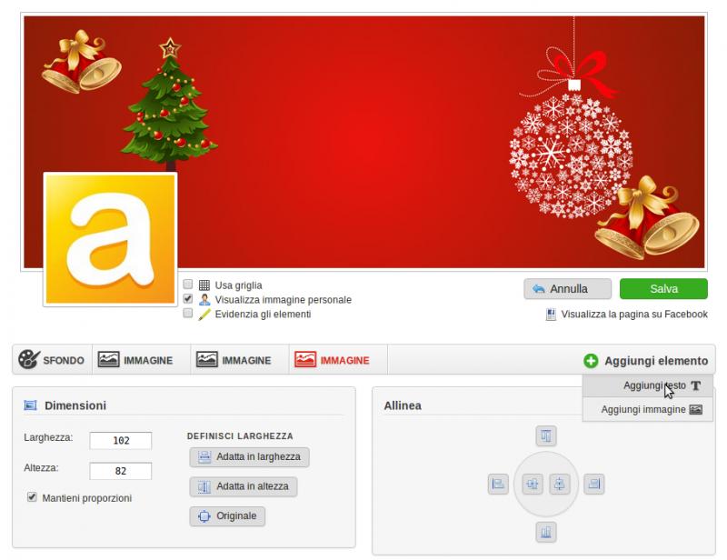 Immagini Copertina Natale.Le Decorazioni Per Natale Copertina Di Facebook E Toolbar
