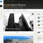 L'anteprima del tema Fresh News di Woo-Themes
