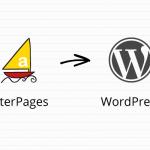 Copia i contenuti creati su Alterpages in un blog WordPress
