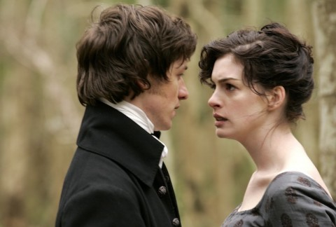 Becoming Jane, un momento del film del 2007 con Anne Hathaway