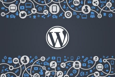 Nuovo pannello blog wordpress