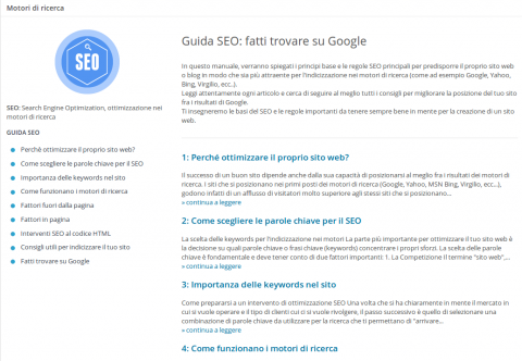 wordpress blog guida seo