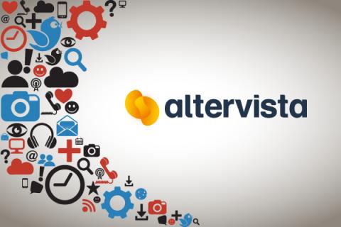 Il nuovo pannello di controllo di Altervista