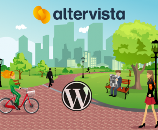 Altervista parco temi Wordpress