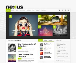 Nexus, Elegant Themes, gratis su Altervista