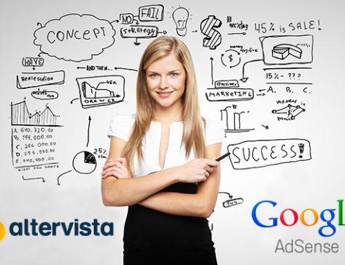 Usa Google AdSense sul tuo sito Altervista