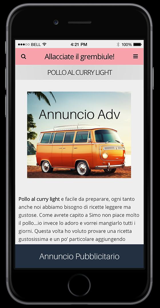 guadagna con il tuo blog su mobile