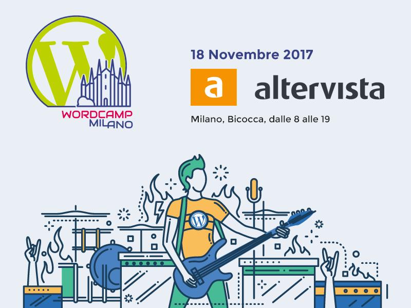 Altervista partecipa al WordCamp Milano 2017