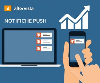 web push notifiche con Altervista