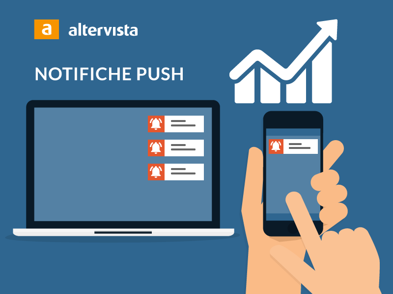 web push notifiche con Altervista