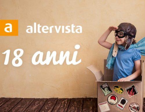 18 anni di Altervista, un bel gioco non dura poco